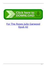 page 1 for the roses julie garwood epub 42