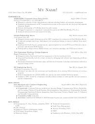 Ideas Of Experience Resume Sample For Electrical Engineer Awesome
