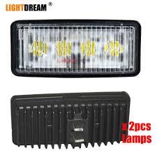 Led Lights For John Deere 8300 5 5x2 5 Inch Rectangle Led Headlight Re306510 Re37450 Fits