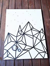 Wall Patterns With Tape 10 Diy Wall Decorations With Washi Tape Designrulz