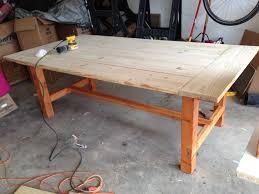 farm dining room table. Modern Farmhouse Dining Room Table With 2x4 Chairs Farm M