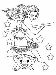 59 Moana Coloring Pages April 2019maui Coloring Pages Too