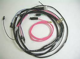 1962 62 impala belair biscayne engine wiring harness 283 327 1963 impala wiring harness at 1963 Impala Wiring Harness