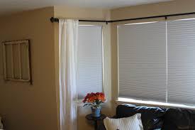 ... curtain rails for bay windows b&q ...