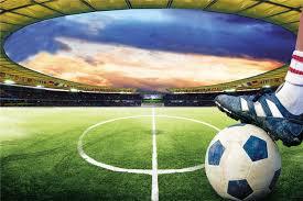 3d papel de parede Sports 3d murals wallpaper football Soccer ...
