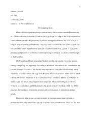 chinese popular religion essay chinese popular religion essay 6 pages investigating islam