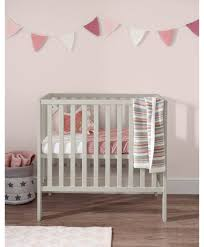 compact nursery furniture. Petite Super-Compact Cot - Pebble Grey Compact Nursery Furniture C