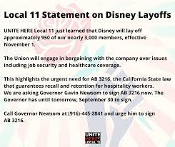 As a disney employee, you are responsible for helping guests and creating lasting memories. Here S What You Need To Know About The Recent Disney Layoffs And How You Can Help Those Affected Allears Net