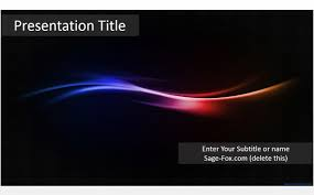 wave powerpoint templates free simple wave powerpoint template 5870 sagefox powerpoint