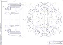 Курсовая робота на тему расчет тормозного механизма автомобиля  Курсовая робота на тему расчет тормозного механизма автомобиля КамАЗ 4310