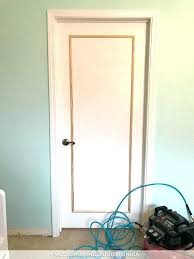 plain white interior doors. 1 Panel Interior Door Flat Doors An Easy Inexpensive Way To Update Flush Plain White