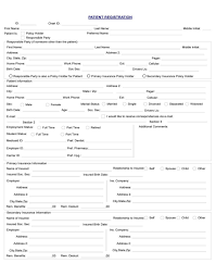 medical patient registration form cary dental rejuvenation patient registration form