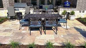 does stone patio installation cost