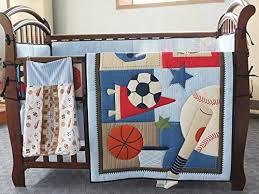 new circo 7pieces baby boy sport crib