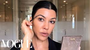 kourtney kardashian s guide to natural ish masking and makeup beauty secrets vogue