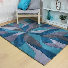 flair rugs infinite handtufted rug teal 160 x 230 cm linens limited