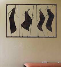 wrought iron decorative wall art in