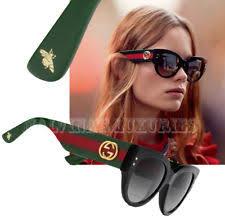 gucci oversized sunglasses. gucci sunglasses gg 3864/s u1c9o cat eye black web interlocking g logo \u0026 bee gucci oversized sunglasses