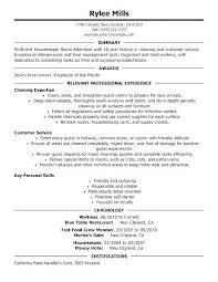 Housekeeping Resume Examples Amazing Executive Housekeeper Resume Domestic Housekeeper Hotel Executive