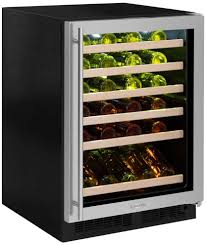 Marvel ML24WSG3RS 24 Inch Built-In Single Zone Wine Refrigerator ...