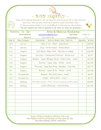 Baby Shower To Do List Choice Image - Handicraft Ideas Home Decorating