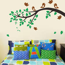 c removable tree branches birds vinyl wall decal nursery room decor wall stickers baby room decor x good wall decal baby room