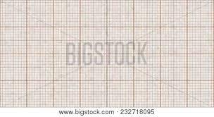 Orange Seamless Millimeter Paper Background Tiling Graph
