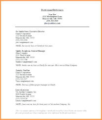 Sample Reference List For Job Free Reference List Template College Reference List Template
