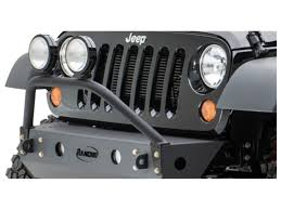 Jeep Grill With Light Bar Rancho Rs6230b Front Light Bar Grill Guard