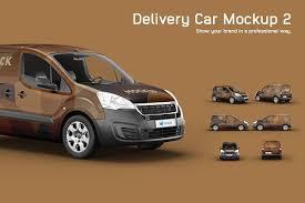 Get the best graphics templates download. Fiat Doblo Delivery Car Mockup Creative Market
