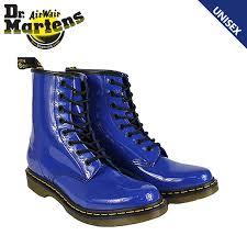 dr martens r11821409 dr martens 1460 womens 8 hole boots royalblue core patent