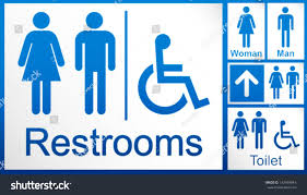 blue mens bathroom sign. Stunning Wo Disabled Restroom Signage Set Stock Vector Pic Of Blue Bathroom Sign Popular And Trends Mens