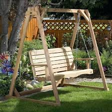 outdoor swing with stand porch swing with stand by all thing cedar outdoor swing stand for outdoor swing with stand