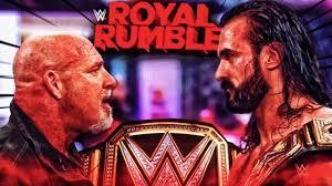 Drew McIntyre vs Goldberg Royal Rumble 2021 Promo HD - YouTube