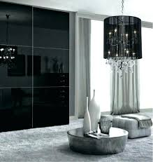 black shaded chandelier black shade chandelier plush black shade double crystal chandelier black shaded chandelier black