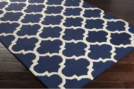 navy blue and white area rugs brilliant rug 5 7