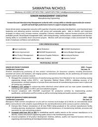 best resume format senior executive sample customer service resume best resume format senior executive sample resumes for executive and senior level senior executive manufacturing engineering
