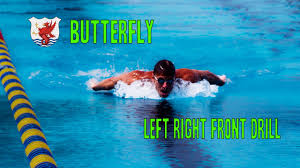 Swimisodes - Butterfly Swim Drill - <b>Left Right Front</b> Drill - YouTube