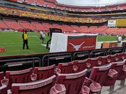 Fedex Field Seating Chart View Fedexfield Section 24 Rateyourseats Com