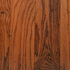 bruce distressed oak gunstock 3 8 in thick x 5 in wide random