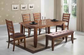 dining room set with bench. kitchen. awesome 6 piece kitchen table sets: 6-piece-kitchen-table dining room set with bench