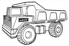 Truck Coloring Pages Zupa Miljevcicom