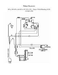 manitowoc ice product spa310 sfa291 spa160 sfa191 115v 60hz 1ph blinking led timer wiring diagram