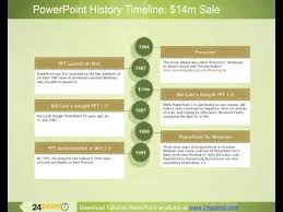 Powerpoint History Ppt Business History Timeline Example Using The History Of Powerpoint