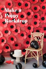 Make A Paper Poppy Flower Diy Paper Poppy Backdrop The House That Lars Built