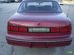 1990 Maroon Metallic Chevrolet Lumina Sedan #22771165 Photo #5 ...