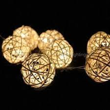 Decorative String Balls Interesting LED Rattan Ball String Light Decorative Lights For Grand Wedding