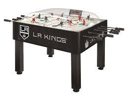la kings basic dome bubble hockey table