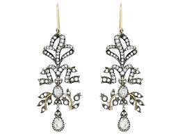 full size of antique silver crystal drop chandelier canopy finish style diamond earrings in home improvement