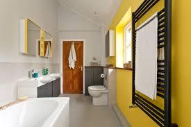 Yellow Bathroom Designs Gray And Yellow Bathroom Ideas Houzz